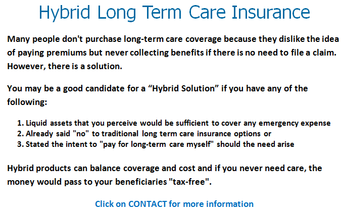 Specializing In Long Term Care Insurance Solutions